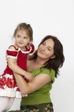 Glückliche Mutter und Tochter Lizenzfreies Stockfoto