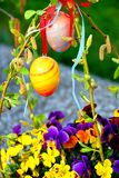 Glückliche Ostereier Lizenzfreie Stockfotografie