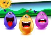 Glückliche Ostern-Abdeckung Lizenzfreie Stockbilder