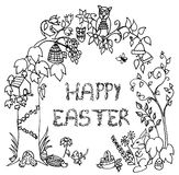 Glückliche Ostern-Feier Lizenzfreie Stockfotografie