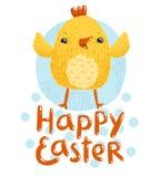 Glückliche Ostern-Grüße Stockfotografie