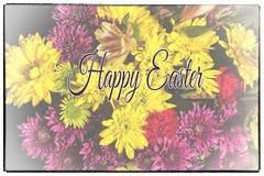 Glückliche Ostern-Grußkarte Lizenzfreie Stockbilder