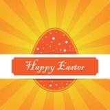 Glückliche Ostern-Karte Lizenzfreie Stockbilder