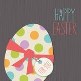 Glückliche Ostern-Karte Stockbild