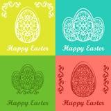 Glückliche Ostern-Karte Lizenzfreie Stockfotos