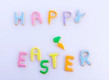 Glückliche Ostern-Wünsche Stockfotografie