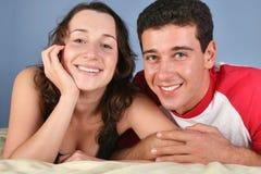 Glückliche Paare 2 Stockfotografie