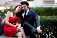 Glückliche Paare Lizenzfreies Stockbild
