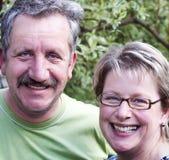 Glückliche Paare Stockfotografie