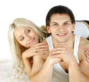 Glückliche Paare Lizenzfreie Stockfotografie