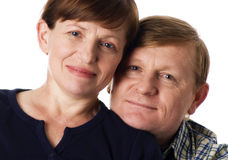 Glückliche Paare. stockfotos