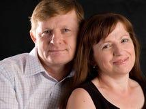 Glückliche Paare. Stockbilder