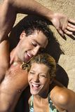Glückliche Paare. Stockfotografie