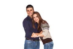 Glückliche Paare Stockfotos