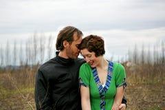 Glückliche Paare #6 Lizenzfreies Stockbild