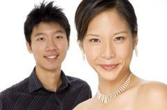 Glückliche Paare Lizenzfreies Stockfoto
