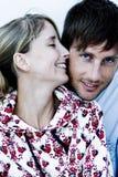 Glückliche Paare Stockbild
