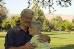 Glückliche Paare Stockfoto