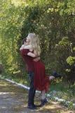 Glückliche Paare in der Liebe Stockfoto