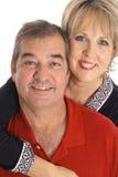 Glückliche Paare in ihren fünfziger Jahren Lizenzfreie Stockfotos