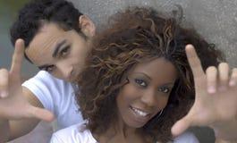 Glückliche Paare II Stockfotos