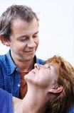 Glückliche Paarserie Lizenzfreie Stockfotografie
