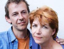 Glückliche Paarserie Lizenzfreies Stockbild