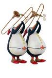 Glückliche Pinguine Stockbild