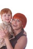 Glückliche Redheads lizenzfreies stockbild