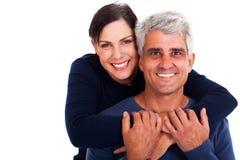 Glückliche reife Paare Stockfoto