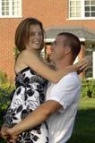 Glückliche romantische Paare Lizenzfreie Stockfotografie
