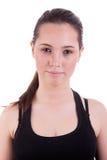 Glückliche schöne junge Frau lizenzfreies stockfoto