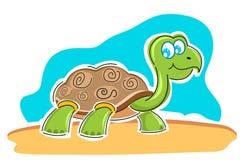 Glückliche Schildkröte Lizenzfreie Stockfotografie