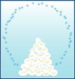 Glückliche Schnee-Kugel Stockfotos