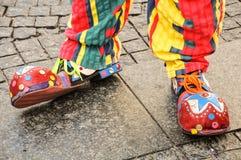Glückliche Schuhe Stockbilder