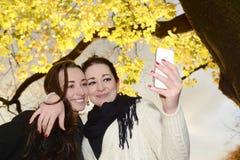 Glückliche Schwestern Lizenzfreie Stockfotografie
