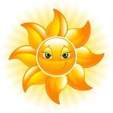 Glückliche Sonne Lizenzfreies Stockbild