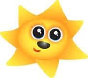 Glückliche Sonne Stockfoto