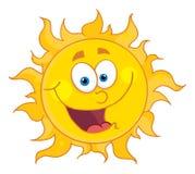 Glückliche Sonne Lizenzfreies Stockfoto
