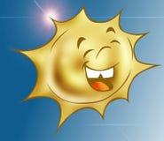Glückliche Sonne 2 Stockbild