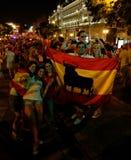 Glückliche Spanien-Gebläse Stockbild