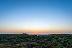 Glückliche Stunden am Kieferknochen-Reserve-Bereich Stockbilder