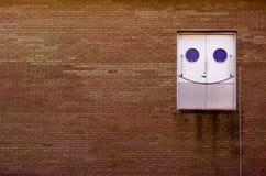 Glückliche Tür Stockfotografie