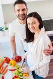 Glückliche und gesunde Paare Stockfotografie