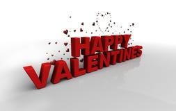 Glückliche Valentinsgrüße vektor abbildung