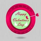 Glückliche Valentinsgrüße Stockbilder