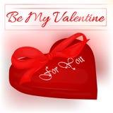 Glückliche Valentinsgruß ` s Tageskarte mit Herzen und Bogen Hintergrund für Valentinsgruß ` s Tag Lizenzfreie Stockbilder