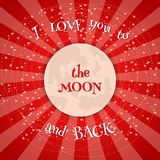 Glückliche Valentinsgrußtages- und -säuberngestaltungselemente Auch im corel abgehobenen Betrag Rosa Hintergrund mit Verzierungen Stockbilder