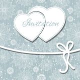 Glückliche Valentinsgrußtages- und -säubernkarte. Lizenzfreies Stockbild