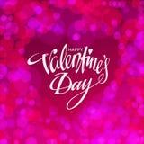 Glückliche Valentinsgrußtageskarte Auch im corel abgehobenen Betrag Lizenzfreie Stockfotografie